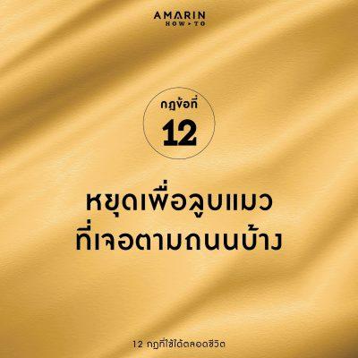 12 กฎที่ใช้ได้ตลอดชีวิต 012